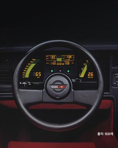 다시 부활한 1980~1990년대 차의 최애템, 전자식 계기판