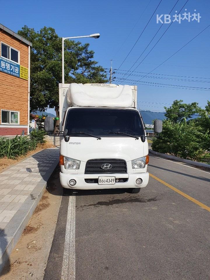 현대 3.5톤 트럭 보냉탑차